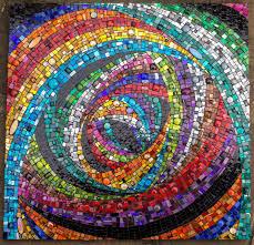 Simple Mosaic Art Designs Rabbit Hole By Julie Edmunds Mosaic Magic Mosaic Art