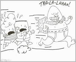 Captain Underpants Coloring Pages Best Free Printable Captain