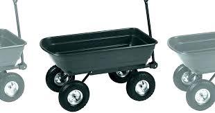 gorilla carts rolling garden scooter cart