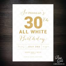 dirty 30 birthday invitation templates por dirty 30 birthday invitation templates reference all white party