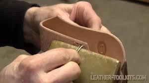 sew leather