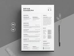 Clean Professional Resume Design A Clean Professional Looking Cv And Resumes