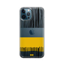 Black And Yellow - iPhone 12 Pro Max Custom Case - Vina Online Shop
