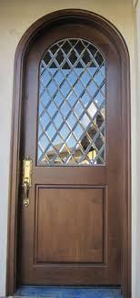 beveled diamond radius door