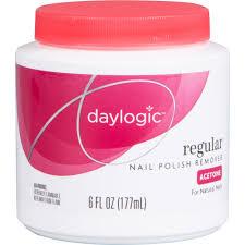 photo of daylogic regular nail polish remover instant acetone 6 fl oz