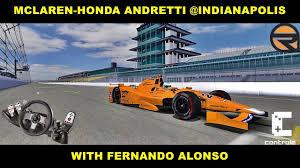 rFactor] McLaren-Honda Andretti @ Indianapolis Motor Speedway with ...