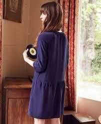 Comptoir Des Cotonniers Size Chart Blue Dresses Silk Size 34 S Comptoir Des Cotonniers
