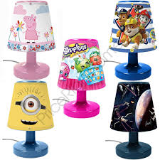Kids Bedroom Lamps Disney Amp Character Kids Bedroom Bedside Lamps For Boys And