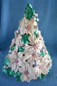 Atlantic Mold Ceramic Christmas Tree Lights Here Is A Vintage Atlantic Mold Ceramic Christmas Tree This