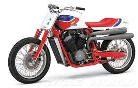 cobra custom honda rs750 flat tracker special feature cycle world