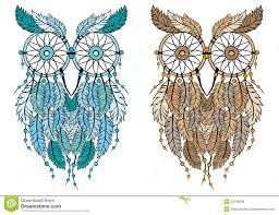 What Is Dream Catcher Dream catcher owl vector stock vector Illustration of hand 85