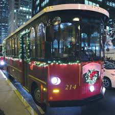 Chicago Trolley Christmas Lights Holiday Tours In The Chicago Loop
