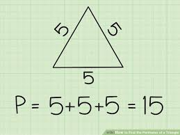 3 Simple Ways To Find The Perimeter Of A Triangle Wikihow
