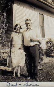Jackie and Brad Rohde's Genealogy - 4. b. ***Charles E. RIGGS- daughter &  son, Neva & Clare Riggs