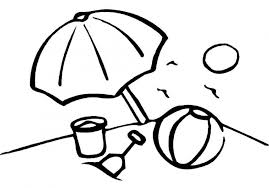 Small Picture Beach ball 23 Objects Printable coloring pages