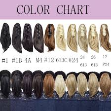 Us 6 59 20 Off Snoilite 12inch Ponytail With Braids Claw Clip In Ponytail Straight Synthetic Clip In Hair Extension Claw Ponytail For Women In