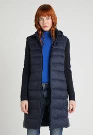 new isaac combo coat down coat blue tommy hilfiger