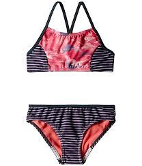 Speedo Two Piece Size Chart Diamond Geo Splice Two Piece Swimsuit Big Kids