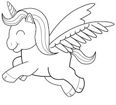 Whether you want to color them, or you print them out for your kiddos, these realistic and enchanting unicorn pages will inspire creativity and sparkle! Baby Unicorn Coloring Flying Coloring Page Unicorn Coloring Pages
