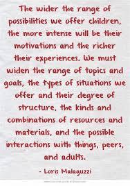 Childcare Quotes Impressive Pin By NativeNewYorker On Education Educators Pinterest Reggio