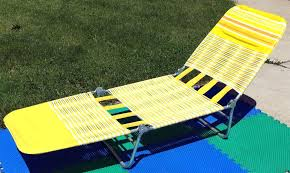 check this folding chaise lounge chairs vintage vinyl cushion web folding chaise lounge lawn chair