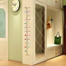 Wall Ruler Height Chart Measure Wall Stickers For Kids Room Height Chart Ruler