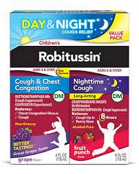 Cough Medicine Decongestant For Children Robitussin Dm