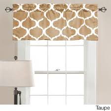 Lush Decor Geo Valance - Free Shipping On Orders Over $45 - Overstock.com -  17638919