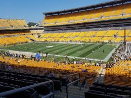 Heinz Field Club Seating Chart Heinz Field Club Seats Under Cover Best Seat 2018