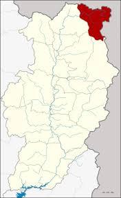 chaloem phra kiat district nan amphoe location in nan province
