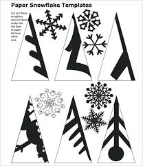 Snowflake Patterns Adorable Free Printable Snowflake Template Download Snowflakes Paper