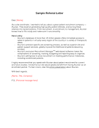 Business Referral Letter Template Business Trade Reference Letter