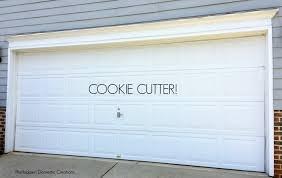 boring cookie cutter door
