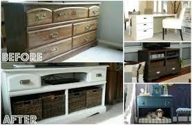 tutorials to transform an old dresser