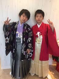 小学生の卒業式 メンズ袴 Angele名古屋市中村区完全個室