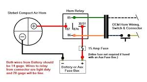 air horn wiring harness model hwk 1 relay \u2022 205 ufc co bosch horn relay wiring diagram at Horn Wiring Diagram With Relay