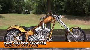 used 2005 custom chopper motorcycles for sale youtube