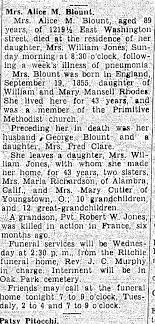 Alice Rhodes Blount obit - Newspapers.com