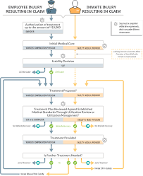 Workers Compensation Claim Process Flow Chart 1 Report 2018 128