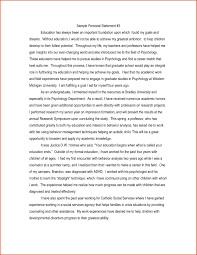 College Personal Statement Examples College Personal Statement Format Examples And Forms