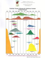 Austin Tx Allergy Chart Pollen Calendar By State Related Keywords Suggestions