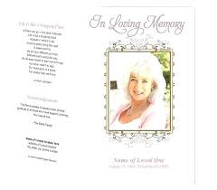 Funeral Template Publisher