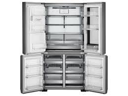 lg french door counter depth refrigerator. lg signature 23 cu. ft. instaview™ door-in-door® counter-depth refrigerator by appliances. french door refrigerators collection lg counter depth