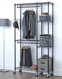 enclosed clothing rack w mobile garment home designer pro tutorial clothes covered ikea clothes rack covered