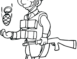 Roman Soldier Coloring Page X2971 Roman Soldier Coloring Page