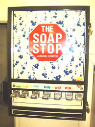 Laundromat Soap Vending Machine Delectable PreOwned Commercial Laundry Equipment Coin Operated Soap Vending