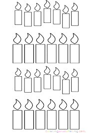 Small Picture 7 Images of Birthday Candle Coloring Pages Printable Birthday