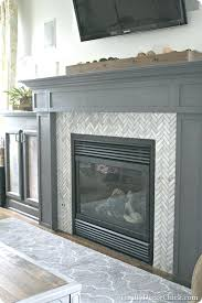 fireplace surround ideas with tile tiling a fireplace surround via more subway tile fireplace surround ideas