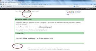 ﺍﻧﺸﺎء ﺣﺴﺎﺏ ﻋﻠﻰ ﺑﺎﻟﺼﻮﺭ ﻟﻜﻴﻔﻴﺔ ﺷﺮﺡ ﻣﻔﺼﻞ Google Scholar