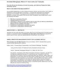 10 Sample Annotated Bibliography Apa Style Proposal Sample